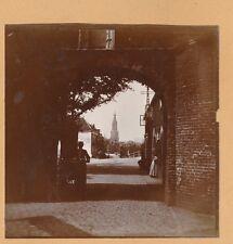 DELFT c. 1900 - Porte  Passage  Église  Pays Bas - FD Hol 140