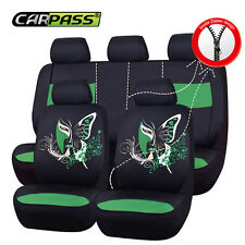 Universal Car Seat Cover China Face Unique Green Fit For Split Rear Airbag TRUCK