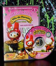 portuguese 2006 HELLO KITTY STUMP VILLAGE PROMO DVD happy meal Region Free RARE