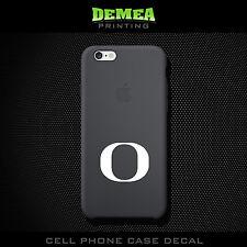Oregon Ducks - Cell Phone Vinyl Decal Sticker - iPhone - Choose Color (X2)