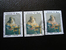 FRANCE - timbre yvert et tellier n° 2231 x3 obl (A01) stamp french