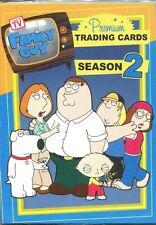 Inkworks Family Guy Season 2 Complete 72 Card Base Set