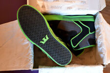Rare SUPRA Vaider supreme Tk Skytop neon green black Factory 413 II IV Society
