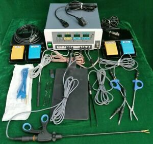 Laparoscopic Vessel Sealing System Fast Seal Plus W/ Accessorie Electrosurgical