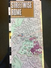 NEW! Streetwise Rome Laminated City Center Street Map of Rome, Italy