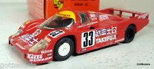 Onyx 1/43 Scale Porsche 962 C Takefuji Le Mans 1988 #33 Diecast model car