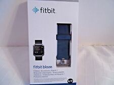 Fitbit Blaze Fitness Wristband Replacement Band Blue Small Nib 65% Off