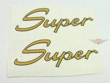 Kreidler Florett Super 4 5 Carénage Latéral Autocollants Pièce Or K54 Neuf