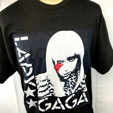Lady Gaga Glam Lightning Evolution XXL T-Shirt 2XL Mens 2011 Ate My Heart Inc