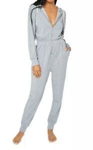 WeWoreWhat Hooded Lounge Jumpsuit XS