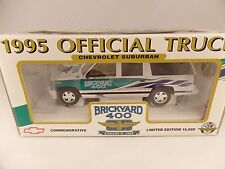 New 1995 Brookfield 1:25 Diecast NASCAR Brickyard 400 Chevrolet Suburban Truck