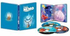 Finding Nemo 4K 4K Ultra Hd + Blu Ray + Digital Steelbook Brand New Sealed