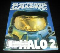 Vintage EGM Electronic Gaming Monthly Video Game Magazine NES PS 2004 issue 185