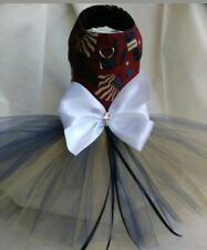New listing Patriotic dress Harness Dogs/Cat dress size available are Xxs * Xs * and Small