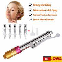 Hyaluron Pen Lippen/Falten + 5 Ampullen Nadeln Spritze+Hyaluronic pen Zerstäuber