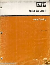 Equipment Brochure - Case - 1835B - Uni-Loader - Parts Catalog (E1967)