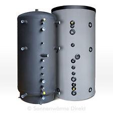 800 Liter SWD Hygienespeicher mit Trinkwasser-Wärmetauscher aus Edelstahl, BHKW