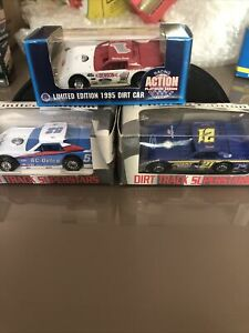 Action Late Model & Dirt Track Superstars Modified #1, #21 & # 52 1:64 Scale