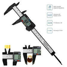 0-150mm Calibre Digital Vernier Micrómetro Calibrador LCD Métricas / Pulgadas