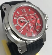 Mens Renato T-Rex Alarm Red Dial Swiss Chronograph Watch / Limited to 30 Total