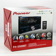 PIONEER® FH-S500BT DOUBLE DIN CD/AM/FM CAR STEREO RECEIVER w/ BLUETOOTH & REMOTE