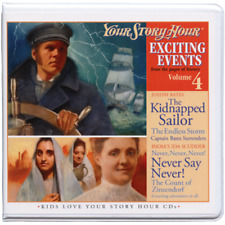 Your Story Hour Exciting Events Volume 4 The Kidnapped Sailor Joseph Bates CD