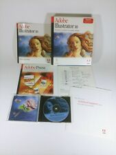 Adobe Illustrator 10 Macintosh Mac User/Flattening Guide/Reference Card + CD