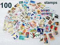 100 x OFF PAPER AUSTRALIAN DECIMAL POSTAGE STAMPS USED MIX DIFFERENT OLD LOT