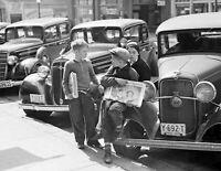 "1936 Newsboys  Jackson Ohio Vintage Old Historic Photo 8.5"" x 11"" Reprint"