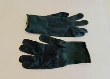 NEW British Army-Issue Aramid Dark-Green Contact Combat Gloves. Size 9.