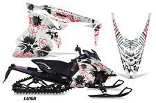 AMR Racing Yamaha Viper Graphic Kit Snowmobile Sled Wrap Decal 13-14 LUNA RED