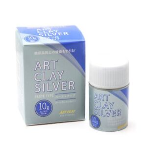 Art Clay Silver 10g. Precious Metal Clay (PMC) Silver -Paste Type. New Formula!