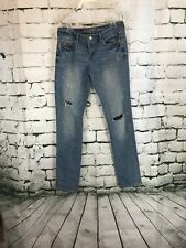 AEROPOSTALE Women Jeans SIZE 2 REGULAR  Very DISTRESSED