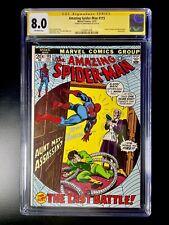 Amazing Spiderman #115 (12/72) Signed By John Romita CGC 8.0