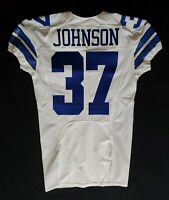 #37 Matt Johnson of Dallas Cowboys NFL Locker Room Player Issued Jersey