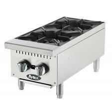 Atosa HD 12in Two Burner Hotplate Propane - ATHP-12-2