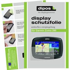 3x Garmin 390LM Zumo Schutzfolie matt Displayschutzfolie Folie dipos