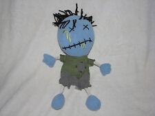 "15"" Animal Adventure Cuddles & Cravings Blue Dead Monster Zombie Plush Doll 2010"