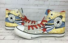All Star Converse Chuck Taylor DC Comics Unisex Superman High Top Trainers UK 7