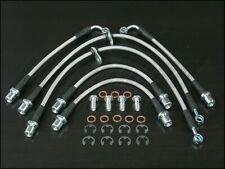 Techna-Fit Stainless Steel Braided Brake Lines 2001-2009 Subaru Legacy GT Turbo