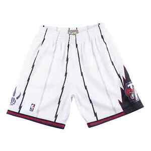 Mitchell & Ness NBA Swingman Shorts Toronto Raptors White Basketball 1998-99