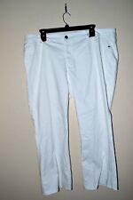 New $92.00 ROCK & REPUBLIC - Designers Bootcut Women White Jeans - Size:  24 W
