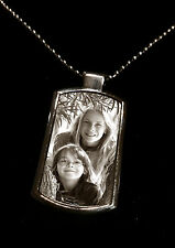 Personalised Photo Necklace Birthday Gift Collectable Christmas Mothers Jewelry