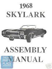 1968 Buick Skylark Assembly Manual