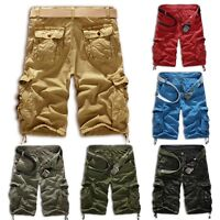 Men Army Camouflage Casual Short Pants Camo Cargo Military Combat Shorts