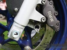 Achsabdeckung Vorderachse links BMW R 1100 S BoxerCup mit Emblem 21 mm Vorderrad