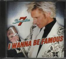 Poison SAMANTHA 7 I wanna Be Famous USA PROMO DJ CD single w/ PRINTED LYRICS
