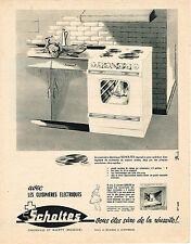 PUBLICITE ADVERTISING  1963   SCHOLTES  cuisinières
