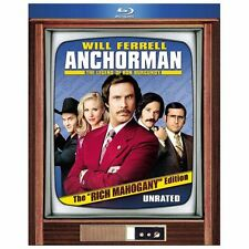 Anchorman: The Legend of Ron Burgundy (Unrated Rich Mahogany Edition) [Blu-ray],