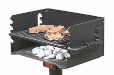 Park Style Charcoal BBQ Grill, all steel, Model Q-20 B2 from Pilot Rock